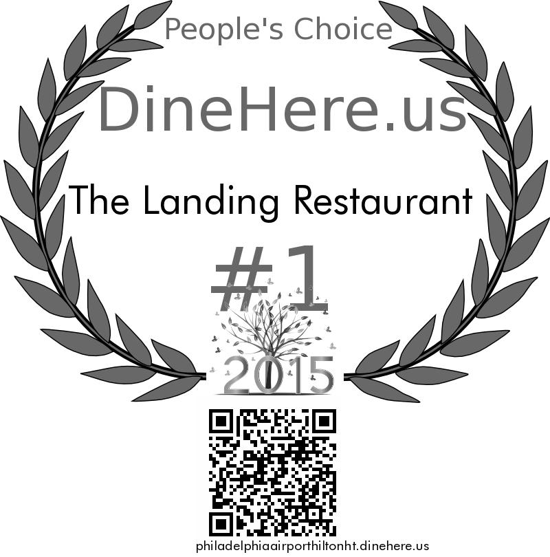 The Landing Restaurant DineHere.us 2015 Award Winner